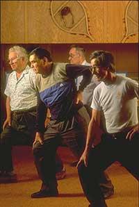 men exercizing