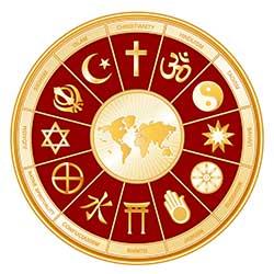 different religions